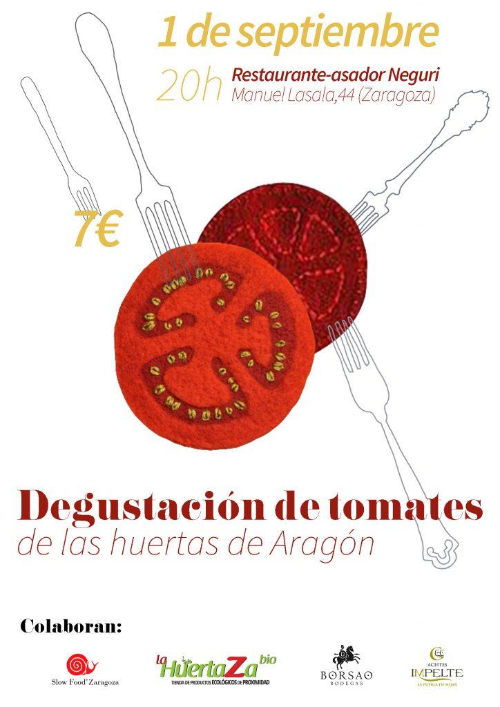 cartel degustación de tomate 2016